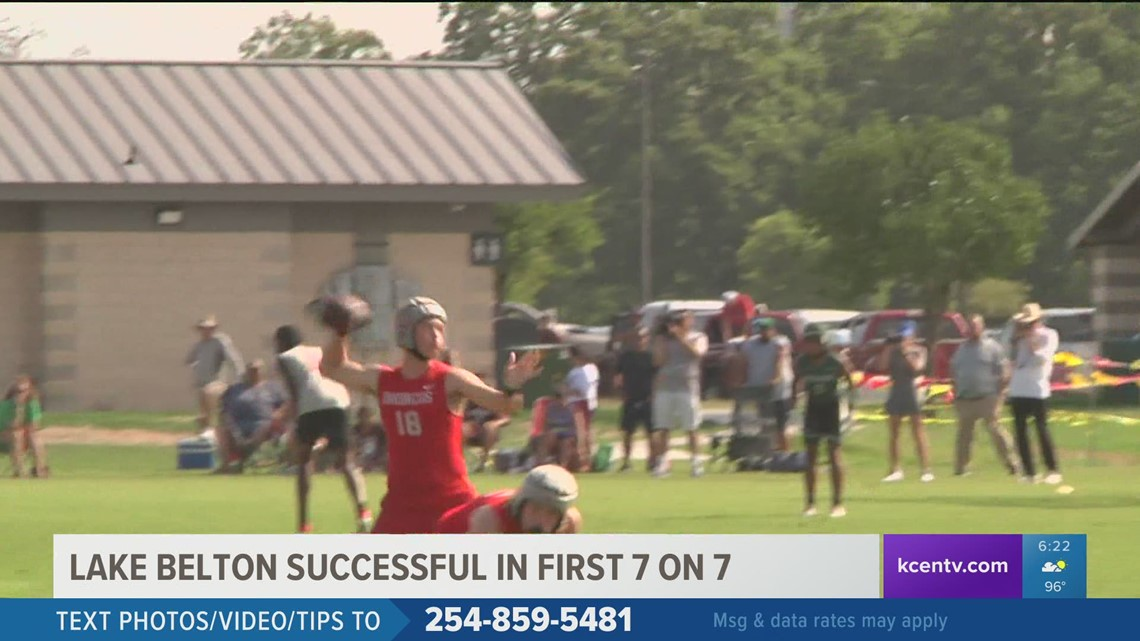 Lake Belton successful in first 7-on-7 tournament making it to quarterfinals