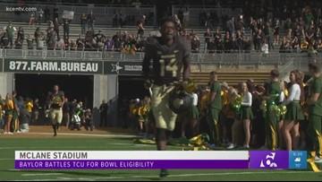 Baylor battles TCU for bowl eligibility
