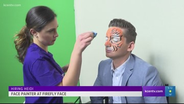 Hiring Heidi: Face painter at Firefly Face