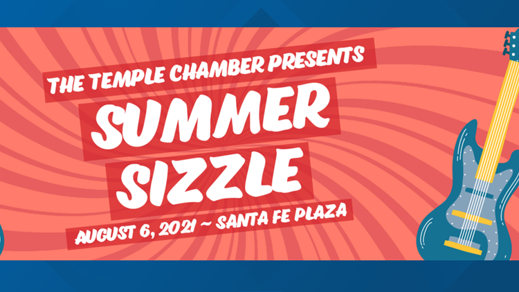 Summer Sizzle community block party event happening Friday!