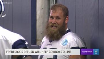 Travis Frederick's return will help Dallas Cowboys' offensive line
