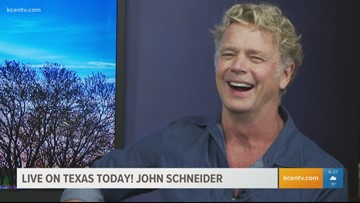 John Schneider performs live on Texas Today