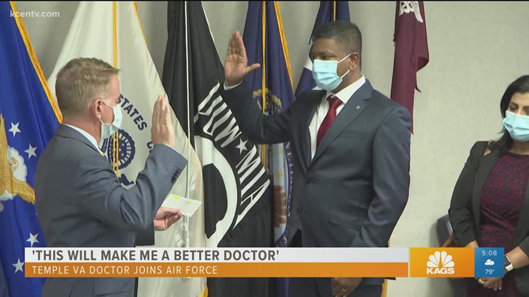 Temple doctor joins the U.S. Air Force