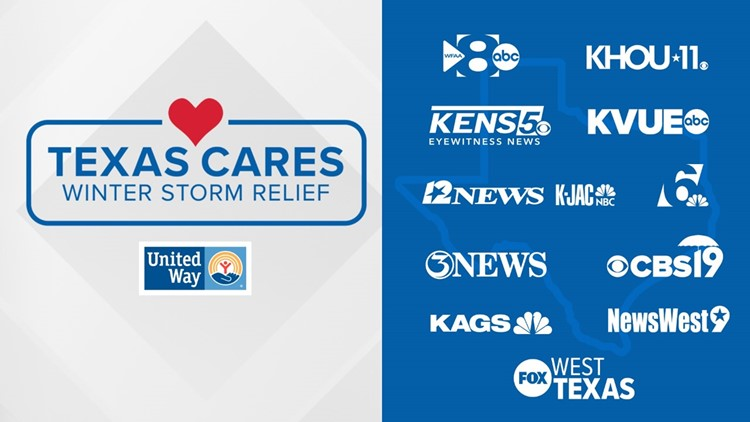 KCEN, United Way partner to raise funds for Winter Storm Relief