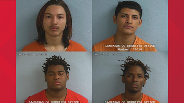 Four suspects identified in shooting death of Lampasas man, 24