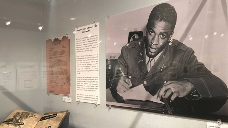 Jackie Robinson featured in new Bell County Museum exhibit honoring African Americans in WWII