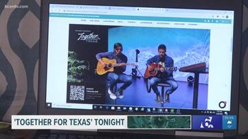 Waco company holds 'Together For Texas' livestream benefit concert