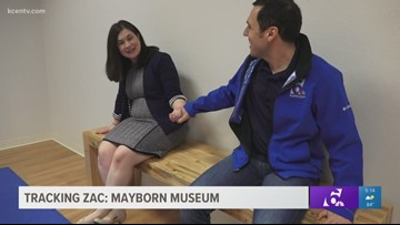 Tracking Zac: Mayborn Museum in Waco