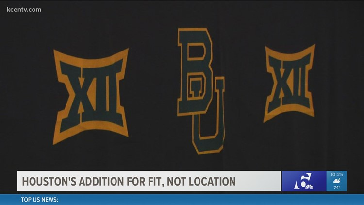 Big 12 selected Houston for fit, not location