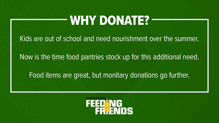 Why donate to Operation Feeding Friends