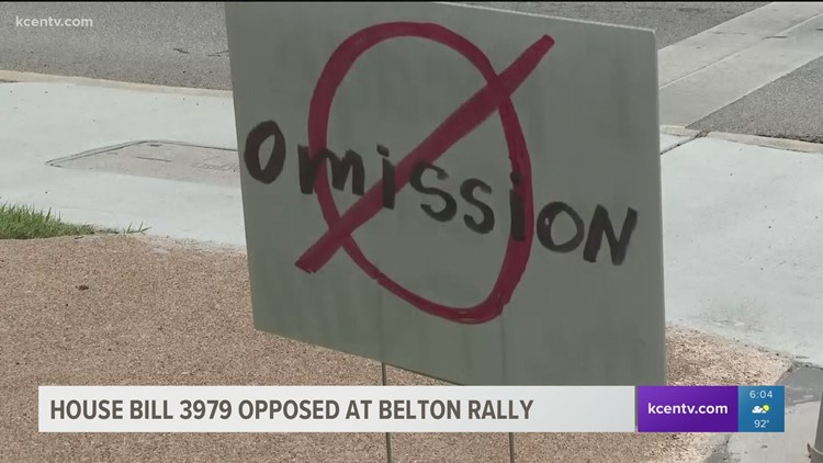 'Teach the Truth' rally held at Bell County Courthouse