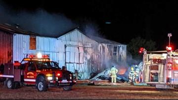 Fire tears through Miles Gin Supply in Elm Mott