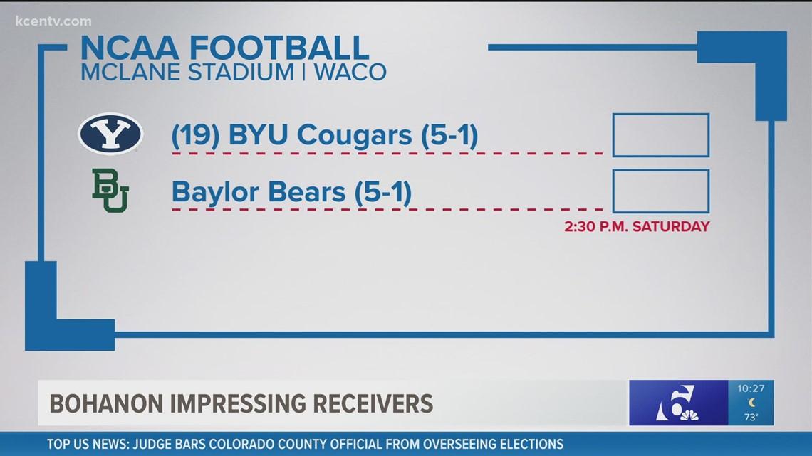 Baylor quarterback impressing receivers