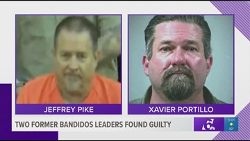 Two former Bandidos leaders found guilty