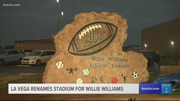 La Vega renames stadium after Willie Williams