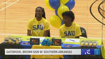 Temple College women's basketball players sign with Southern Arkansas
