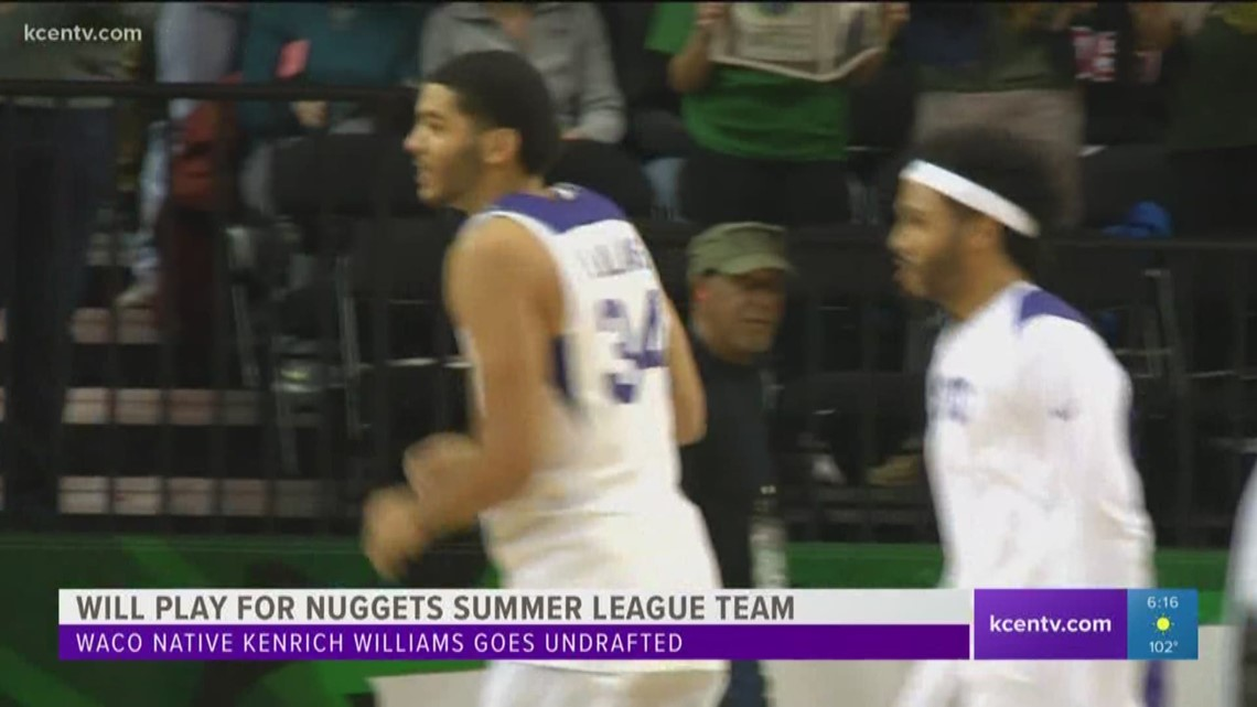 best service 2cfb6 9cf22 Kenrich Williams joins Nuggets for NBA Summer League