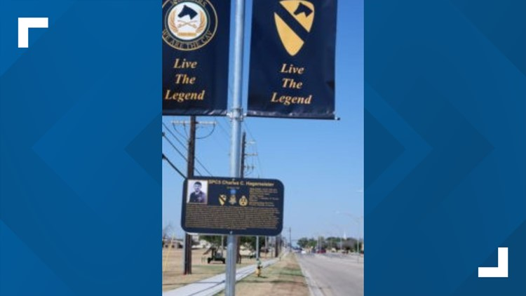 1st Cavalry Division unveils Legends Way