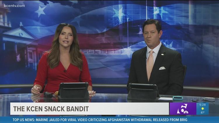 KCEN Snack Bandit Caught
