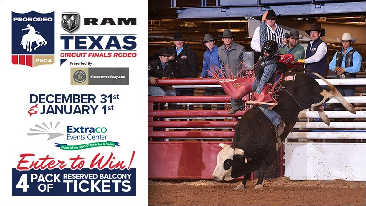 Enter to win tickets to the PRCA RAM Texas Circuit Finals