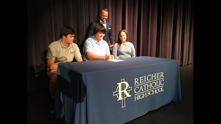 020520 Reicher Catholic High School Noah Plsek signing