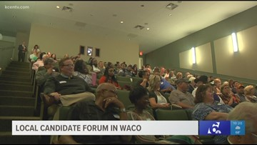 Candidates head to Waco to meet and hear from voters