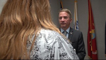 New Temple VA director holds meet and greet with workers, volunteers
