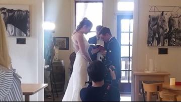 Community gives Fort Hood soldier, veteran wife surprise wedding