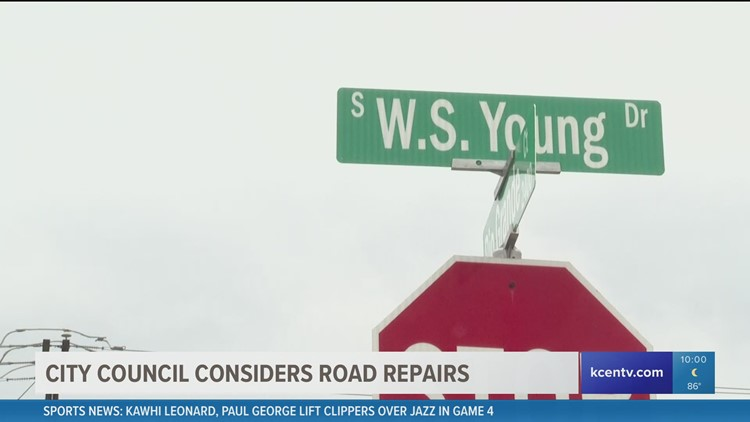 Killeen City Council considers road repairs; say $100 million needed in total
