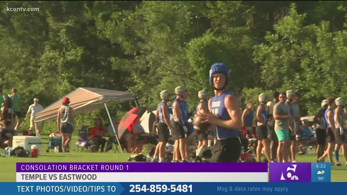 Temple loses to Eastwood in first round of consolation bracket at state 7-on-7 tournament