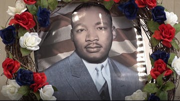 Waco honors Dr. Martin Luther King Jr. with wreath-laying ceremony