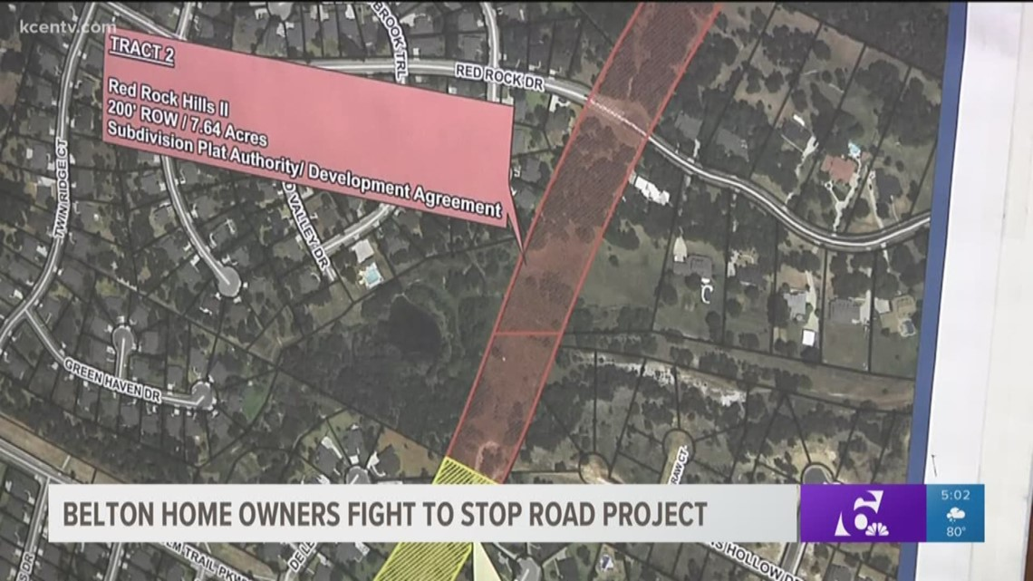 Belton Home Owners Fight To Stop Road Project Kcentv