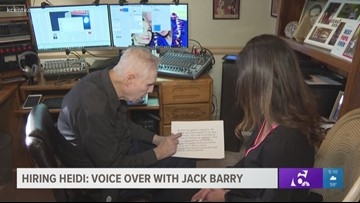 Hiring Heidi: Voice Over with Jack Barry