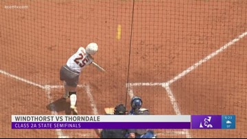 Thorndale softball enforces mercy rule