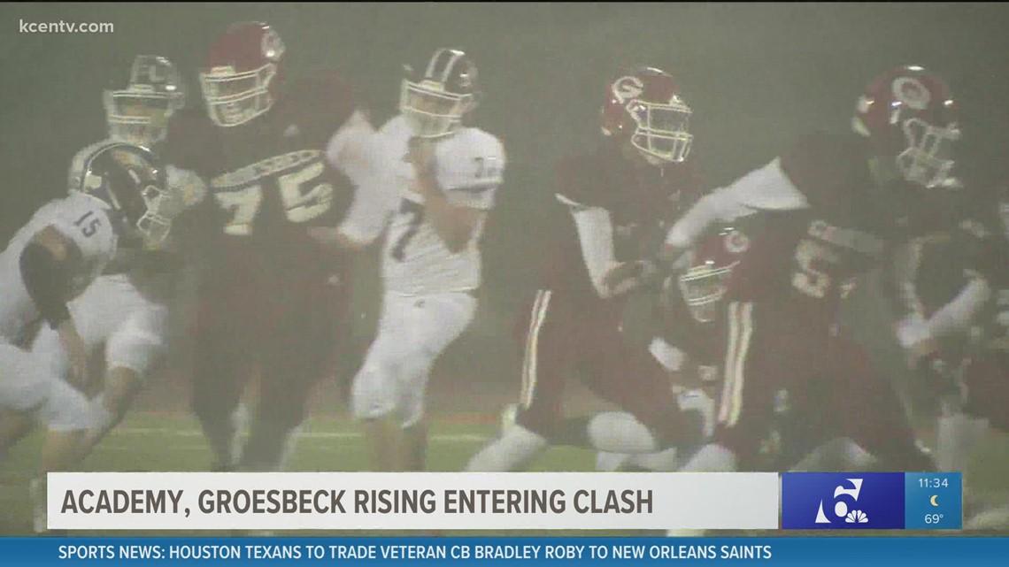 GOTW: Academy and Grosebeck rising entering clash