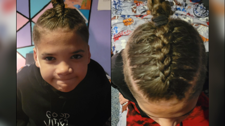 Troy mother says son is being isolated in school because of his haircut