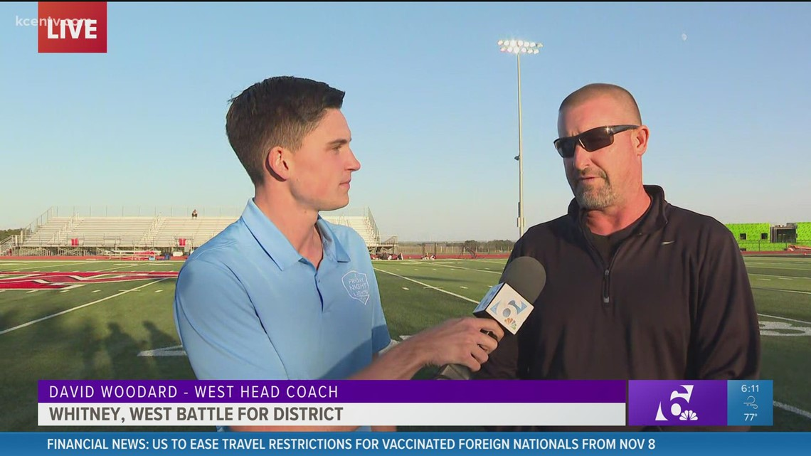 Live Preview: West Head Coach David Woodard talks Whitney game