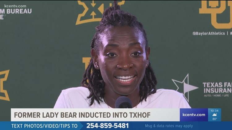 Former Lady Bear inducted into TXHOF