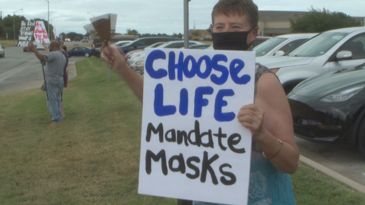 Killeen ISD parents, community members rally calling for district-wide mask mandate again