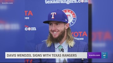 Former Baylor All-American Davis Wendzel signs with Texas Rangers
