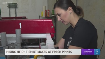 Hiring Heidi: T-Shirt maker at Fresh Prints