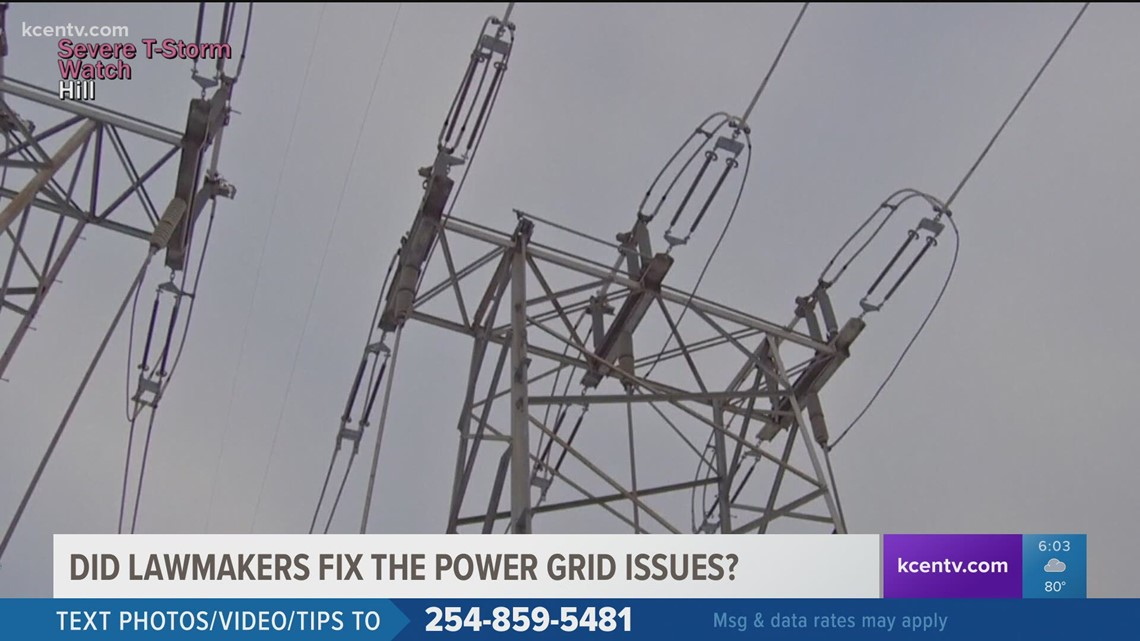 Did Texas lawmakers fix state power grid issues this session?