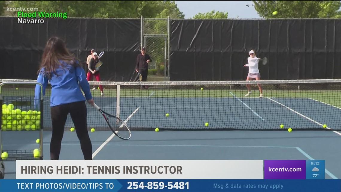 Hiring Heidi | Becoming a tennis instructor