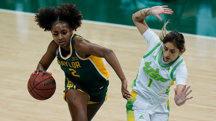 Baylor's Richards drafted by New York Liberty