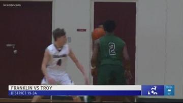 High school boys basketball: Troy vs. Franklin