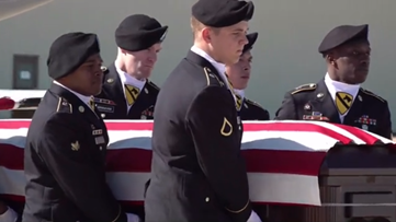 Fort Hood holds dignified transfer for soldier killed in Afghanistan helicopter crash