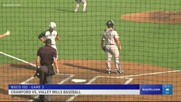 Valley Mills baseball eliminates Crawford