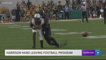 Harrison Hand leaving Baylor football program