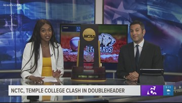 DiDi Richards appears on the KCEN Sports desk