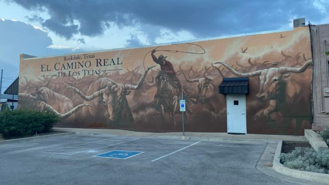 Heart of Central Texas: Rockdale group works to bring murals